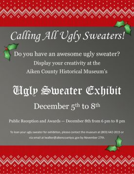 Ugly Sweater Exhibit Amp Event