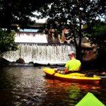 dam and kayak